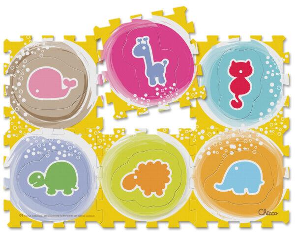 Tappeto Puzzle Animali - ARTSANA - Marche Chicco Unisex 0-12 Mesi ALTRI
