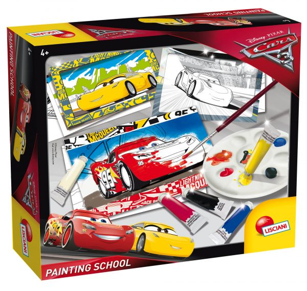 CARS 3 PAINTING SCHOOL - Disney - Pixar - Toys Center - DISNEY - PIXAR - Fino al -20%