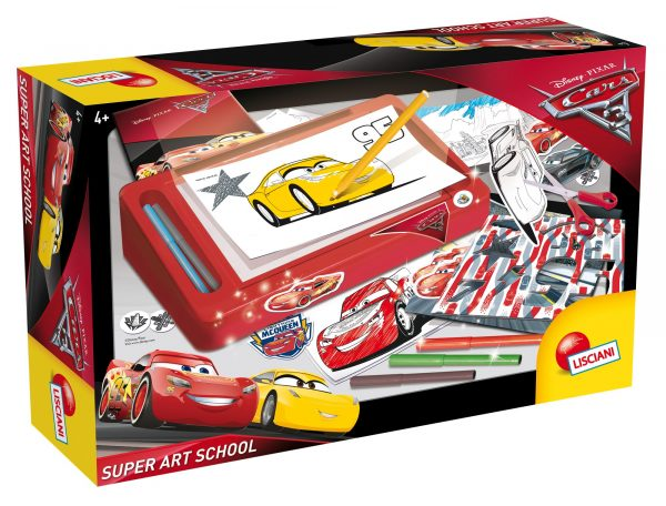 CARS 3 SUPER ART SCHOOL DISNEY - PIXAR Unisex 12-36 Mesi, 3-5 Anni, 5-8 Anni, 8-12 Anni CARS