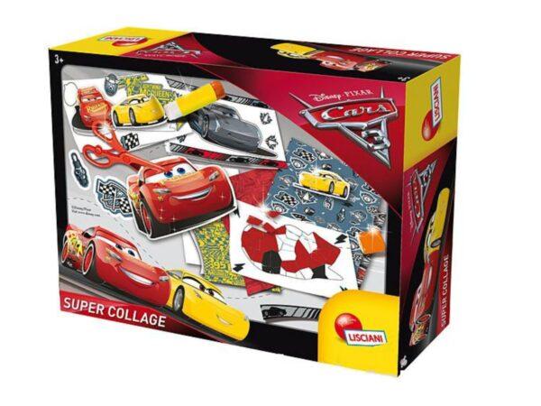 CARS 3 SUPERCOLLAGE DISNEY - PIXAR Unisex 12-36 Mesi, 3-5 Anni, 5-8 Anni, 8-12 Anni CARS