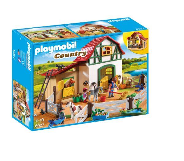 Maneggio dei Pony - Giocattoli Toys Center PLAYMOBIL - COUNTRY Unisex 3-4 Anni, 3-5 Anni, 5-7 Anni, 5-8 Anni, 8-12 Anni ALTRI