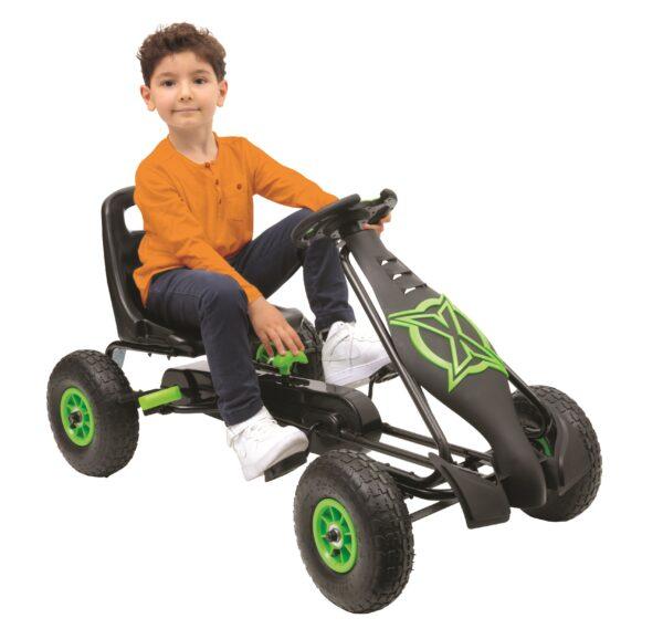 SUN & SPORT GO-KART A PEDALI - Sun&sport - Toys Center - SUN&SPORT - CORRI ALL'AVVENTURA