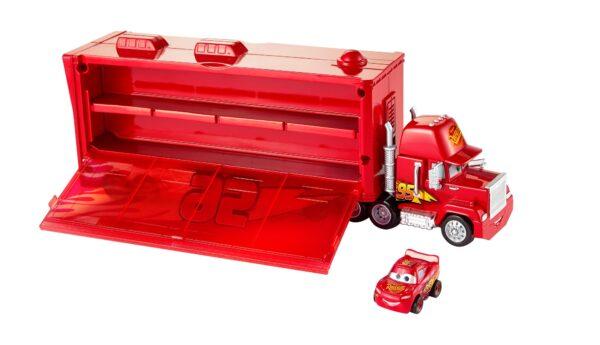 Cars 3 - Mack Trasportatore Mini Racers, con un Mini Racer incluso, può contenere fino a 16 Mini Racers - FLG70 - Disney - Pixar - Toys Center DISNEY - PIXAR Maschio 12+ Anni, 8-12 Anni CARS