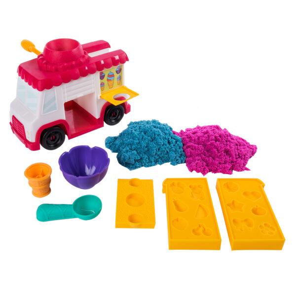 KINETIC SAND Furgoncino dei gelati - Kinetic Sand - Toys Center Spin Master Unisex 12-36 Mesi, 12+ Anni, 8-12 Anni ALTRI