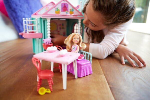ALTRI La Casa di Chelsea Barbie 12-36 Mesi, 12+ Anni, 3-5 Anni, 5-8 Anni, 8-12 Anni Femmina