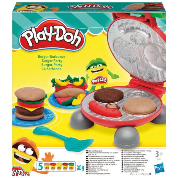 Burger Set PLAY-DOH Unisex 12-36 Mesi, 3-4 Anni, 3-5 Anni, 5-7 Anni, 5-8 Anni ALTRI
