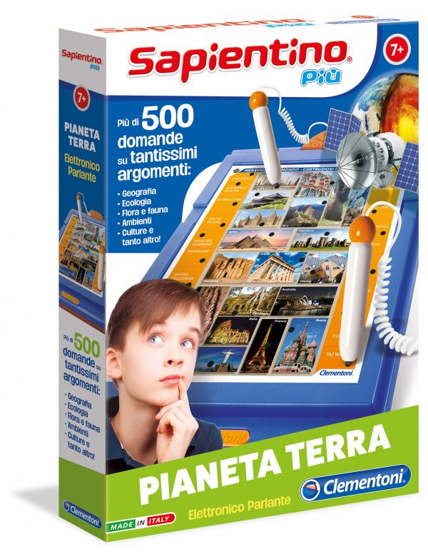 SAPIENTINO PIU' PIANETA TERRA SAPIENTINO Unisex 12+ Anni, 5-8 Anni, 8-12 Anni ALTRI