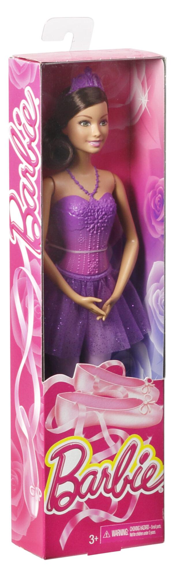 Barbie Fairytale - Bambola Ballerina, Abito Rosa, Bionda Femmina 12-36 Mesi, 12+ Anni, 8-12 Anni ALTRI Barbie