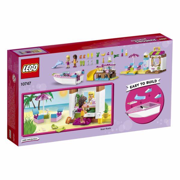 10747 - Vacanze al mare ALTRI Unisex 3-4 Anni, 5-7 Anni LEGO JUNIORS