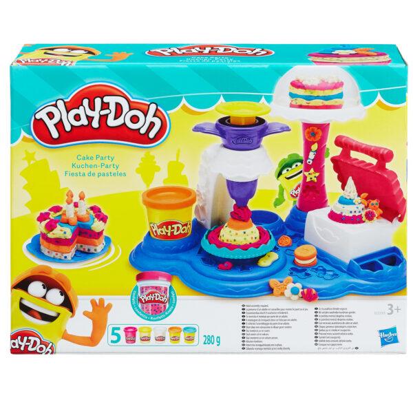 Play Doh  Cake Party PLAY-DOH Unisex 12-36 Mesi, 3-4 Anni, 3-5 Anni, 5-7 Anni, 5-8 Anni ALTRI
