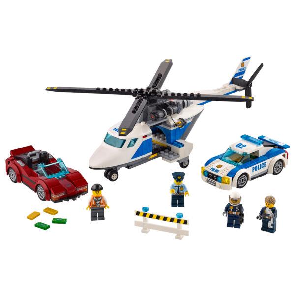 LEGO CITY ALTRI 60138 - Inseguimento ad alta velocità - Lego City - Toys Center Maschio 5-7 Anni, 8-12 Anni