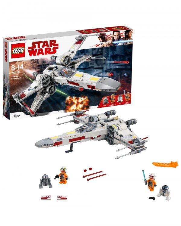 75218 - X-Wing Starfighter - Altro - Toys Center ALTRO Unisex 12+ Anni, 5-8 Anni, 8-12 Anni Star Wars