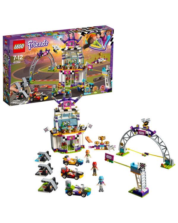 ALTRI LEGO FRIENDS Unisex 12+ Anni, 5-8 Anni, 8-12 Anni LEGO Friends  - La grande corsa al go-kart 41352