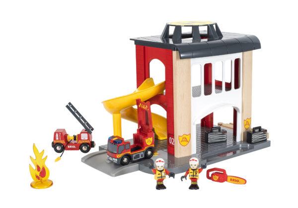 BRIO caserma dei pompieri ALTRI Unisex 12-36 Mesi, 3-4 Anni, 3-5 Anni, 5-7 Anni, 5-8 Anni BRIO