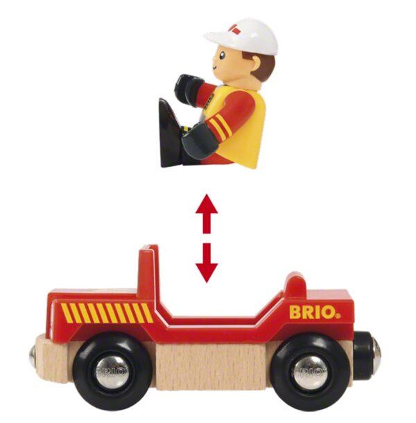 BRIO TRENINI, VAGONI E ALTRI VEICOLI ALTRI BRIO Set accessori pompiere Unisex 12-36 Mesi, 3-5 Anni, 5-8 Anni, 8-12 Anni