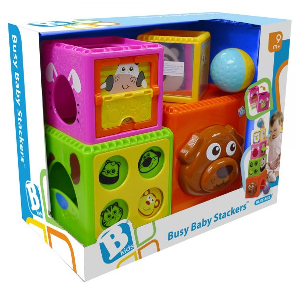BKIDS Gioco con cubi e palla ALTRI Unisex 0-12 Mesi, 0-2 Anni B-KIDS