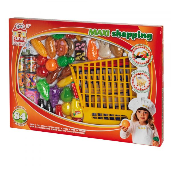 FUNNY HOME SET SPESA DELUXE - Giocattoli Toys Center FUNNY HOME Unisex 12-36 Mesi, 3-4 Anni, 3-5 Anni, 5-7 Anni, 5-8 Anni ALTRI