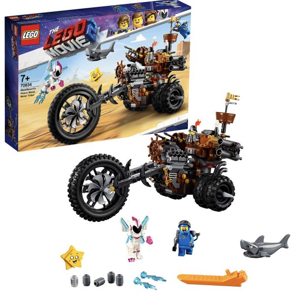 70834 - La tre-ruote Heavy Metal di Barbacciaio! - The LEGO Movie 2 - LEGO - Marche ALTRO Unisex 12+ Anni, 5-8 Anni, 8-12 Anni THE LEGO MOVIE 2