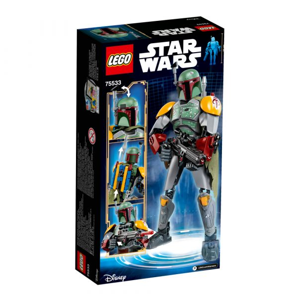 41629 - Boba Fett™ - LEGO BRICKHEADZ - LEGO - Marche Star Wars Maschio 12+ Anni, 5-8 Anni, 8-12 Anni Disney