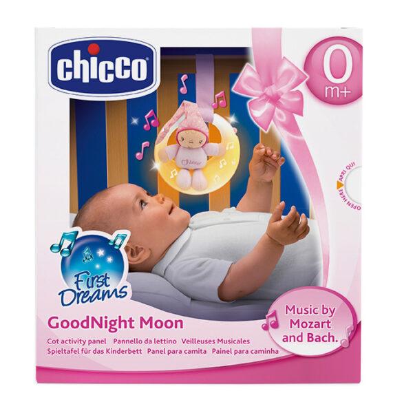 Pannello Goodnight Moon Rosa ALTRI Femmina 0-12 Mesi, 0-2 Anni, 12-36 Mesi, 3-5 Anni, 5-8 Anni Chicco