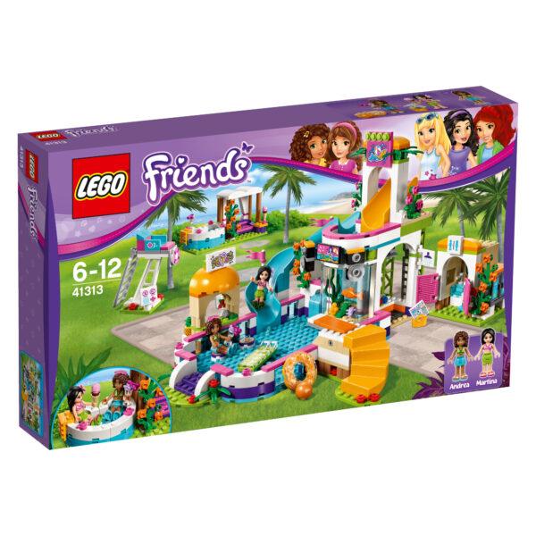 LEGO 41313 - La piscina all'aperto di Heartlake - Lego Friends - Toys Center LEGO FRIENDS Femmina 5-7 Anni, 8-12 Anni ALTRI