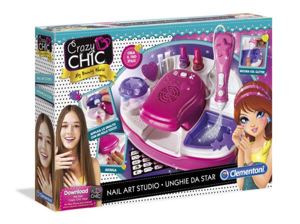 Crazy Chic Nail Art Studio - Giocattoli Toys Center - CRAZY CHIC - Giochi creativi