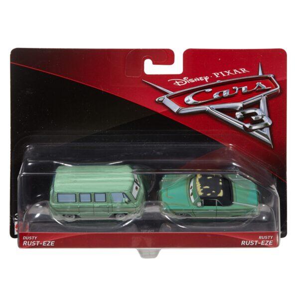 DISNEY - PIXAR CARS Cars 3 - Minny e Van Confezione da 2 veicoli Personaggi Die-cast - DXW06 - Disney - Pixar - Toys Center Maschio 12-36 Mesi, 12+ Anni, 3-5 Anni, 5-8 Anni, 8-12 Anni