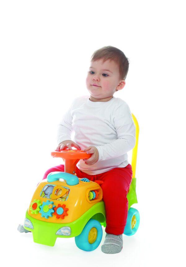 CAVALCABILE ELETTRONICO BOY BABY SMILE Unisex 0-12 Mesi, 12-36 Mesi, 3-5 Anni ALTRI