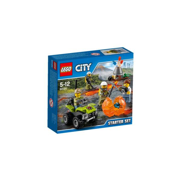60120 - Starter Set Vulcano - Lego City - Toys Center - LEGO CITY - Costruzioni