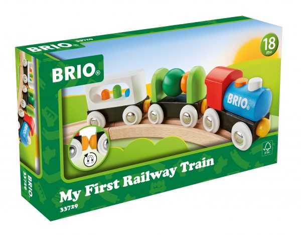 BRIO il mio primo treno BRIO Unisex 0-2 Anni, 12-36 Mesi, 3-4 Anni, 3-5 Anni ALTRI