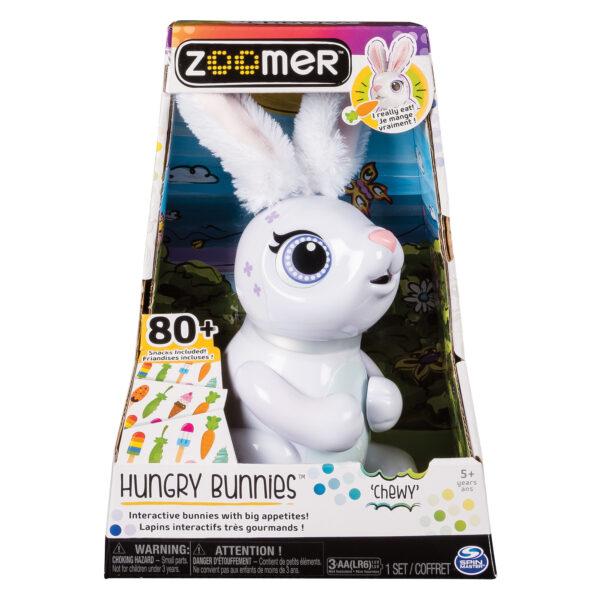 ALTRI Spin Master Unisex 12+ Anni, 3-5 Anni, 5-8 Anni, 8-12 Anni ZOOMER Coniglio Hungry Bunny Ass.to - Zoomer - Toys Center