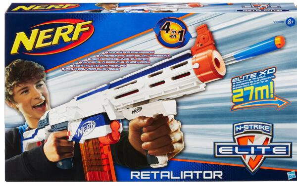 Nerf Retaliator - Nerf - Toys Center - NERF - Giochi di ruolo e accessori