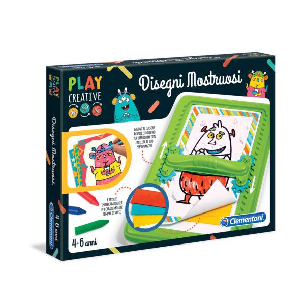 PLAY CREATIVE - DISEGNI MOSTRUOSI PLAY CREATIVE Unisex 3-5 Anni, 5-8 Anni ALTRI