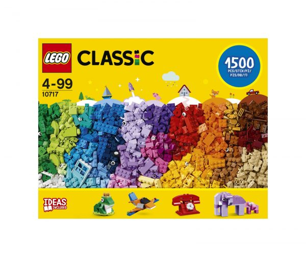 LEGO CLASSIC ALTRI Lego Classic - Mattoncini, mattoncini, mattoncini - 10717 Unisex 12+ Anni, 3-5 Anni, 5-8 Anni, 8-12 Anni