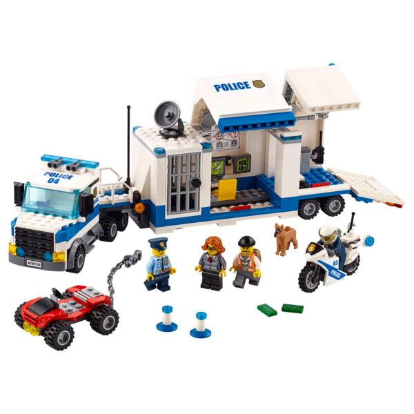 LEGO CITY ALTRI LEGO City 60139 - Centro di comando mobile Maschio 5-7 Anni, 8-12 Anni
