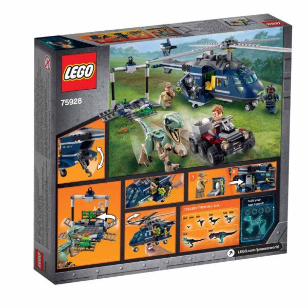 75928 - Inseguimento sull'elicottero di Blue - LEGO JURASSIC WORLD - LEGO - Marche JURASSIC WORLD Unisex 12+ Anni, 5-8 Anni, 8-12 Anni ALTRO
