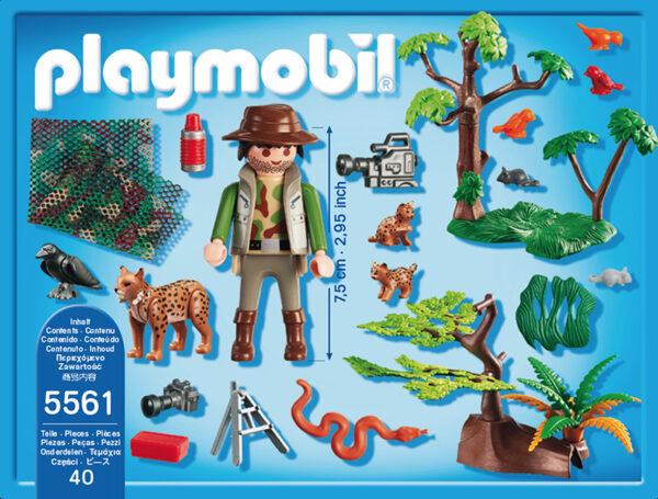 CAMERAMEN CON LINCI ALTRI Maschio 3-4 Anni, 3-5 Anni, 5-7 Anni, 5-8 Anni, 8-12 Anni Playmobil Wild Life