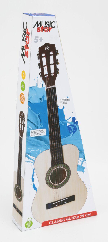 CHITARRA IN LEGNO 75 CM - Giocattoli Toys Center - MUSICSTAR - Fino al -30%