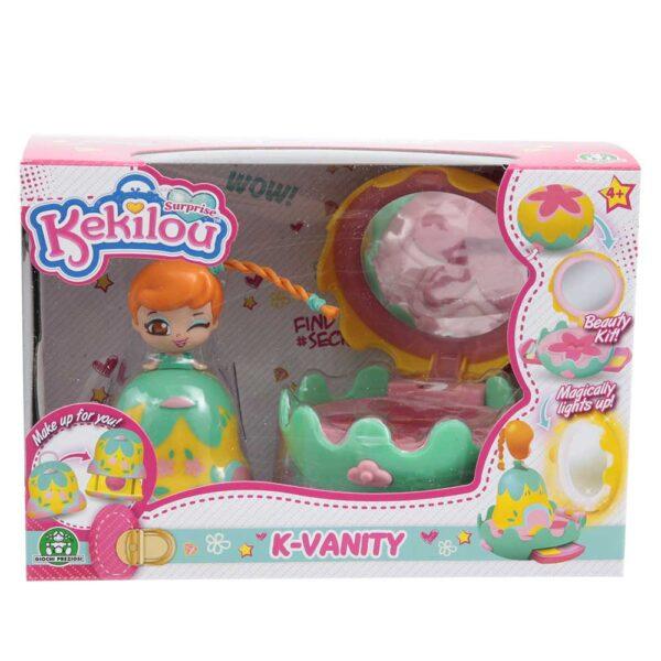 Kekilou Mini Vanity Playset, doll MAGNOLIA - Altro - Toys Center ALTRO Femmina 3-5 Anni, 5-8 Anni, 8-12 Anni ALTRI