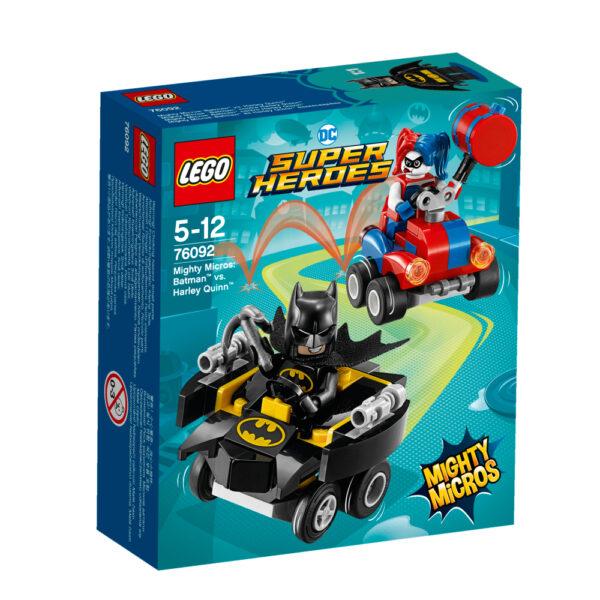 76092 - Mighty Micros: Batman™ contro Harley Quinn™ LEGO SUPER HEROES Maschio 12+ Anni, 3-5 Anni, 5-8 Anni, 8-12 Anni ALTRI