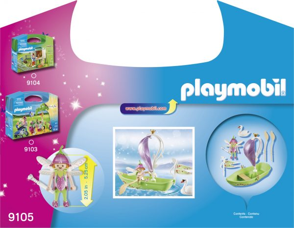 VALIGETTA BARCA DELLE FATE - Playmobil - Fairies - Toys Center ALTRI Femmina 12+ Anni, 3-5 Anni, 5-8 Anni, 8-12 Anni Playmobil Fairies