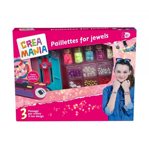 PAILLETTES FOR JEWELS - Creamania Girl CREAMANIA GIRL Femmina 12+ Anni, 5-8 Anni, 8-12 Anni ALTRI