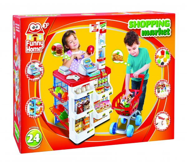 SHOPPING MARKET - Toys Center - Toys Center FUNNY HOME Unisex 12-36 Mesi, 12+ Anni, 3-5 Anni, 5-8 Anni, 8-12 Anni TOYS CENTER