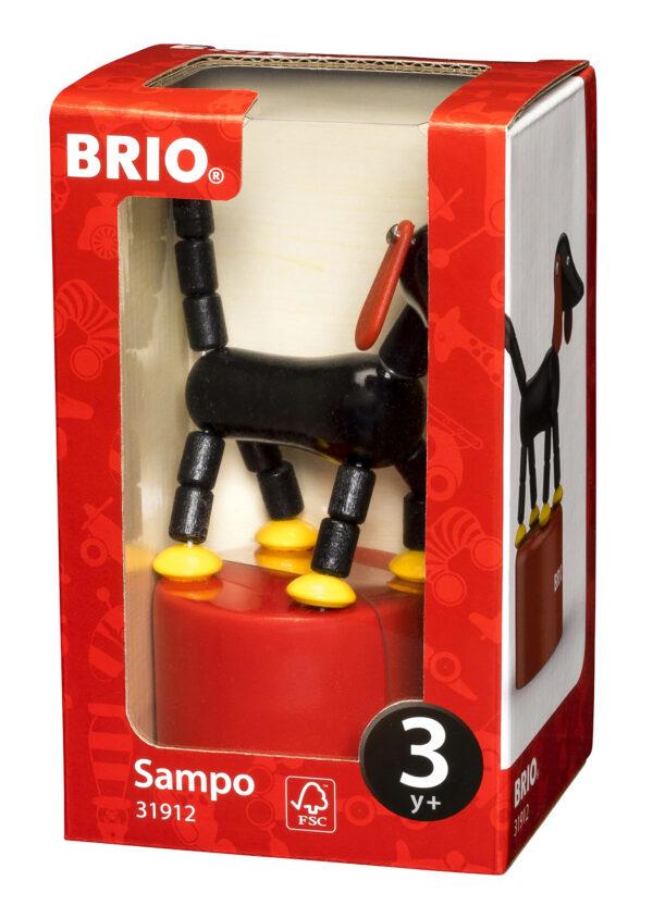 BRIO Sampo cane in legno a molla - BRIO - Fino al -20%