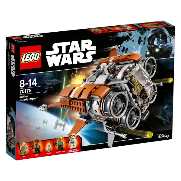 75178 - Quadjumper di Jakku - Disney - Toys Center Disney Maschio 12+ Anni, 5-8 Anni, 8-12 Anni Star Wars