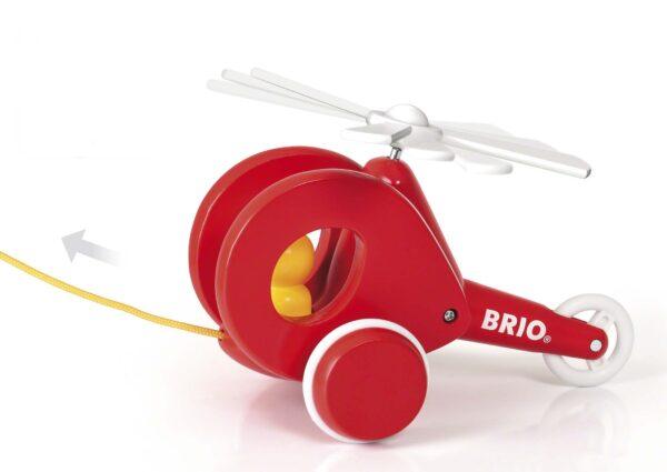 BRIO GIOCHI PEDAGOGICI ALTRI BRIO Elicottero Trainabile - Brio Giochi Pedagogici - Toys Center Unisex 0-12 Mesi, 12-36 Mesi, 3-5 Anni, 5-8 Anni, 8-12 Anni