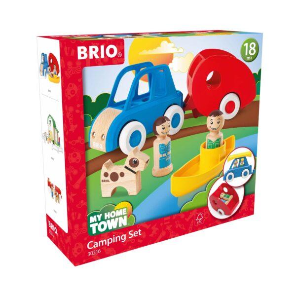 BRIO Set Campeggio - Brio My Home Town - Toys Center ALTRI Unisex 12-36 Mesi, 3-5 Anni, 5-8 Anni, 8-12 Anni BRIO MY HOME TOWN