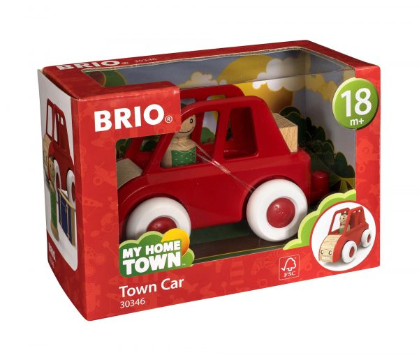 BRIO City Car - Brio My Home Town - Toys Center ALTRI Unisex 12-36 Mesi, 3-5 Anni, 5-8 Anni, 8-12 Anni BRIO MY HOME TOWN