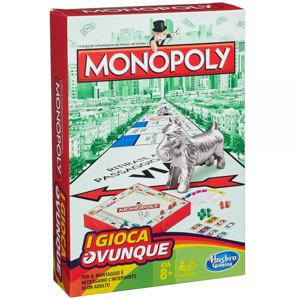 Monopoly Travel - Hasbro Gaming - Toys Center - HASBRO GAMING - Giochi da tavolo