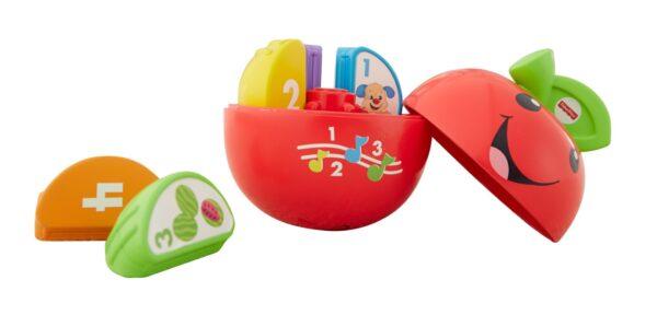 ALTRI FISHER-PRICE Unisex 0-2 Anni, 3-4 Anni Baby Mela Impara con Me